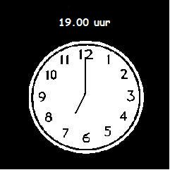 19.00 uur