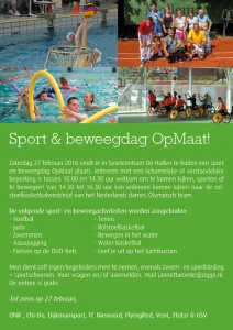 Flyer Sport en beweegdag OpMaat versie 2