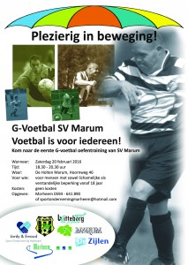 g-voetbal poster